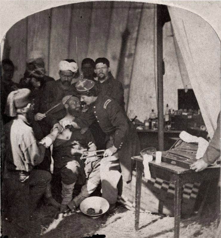 Injured Zouave image. Click for full size.
