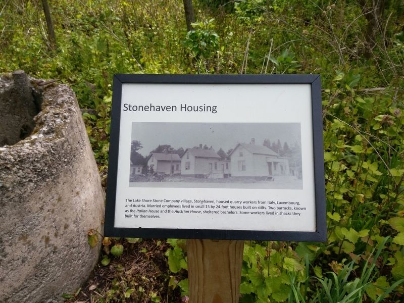 Stonehaven Housing Marker image. Click for full size.