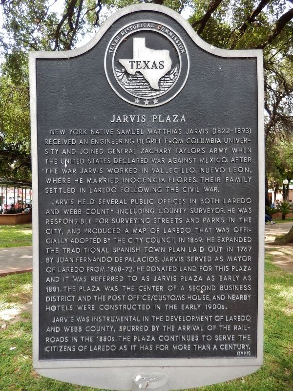 Jarvis Plaza Marker image. Click for full size.