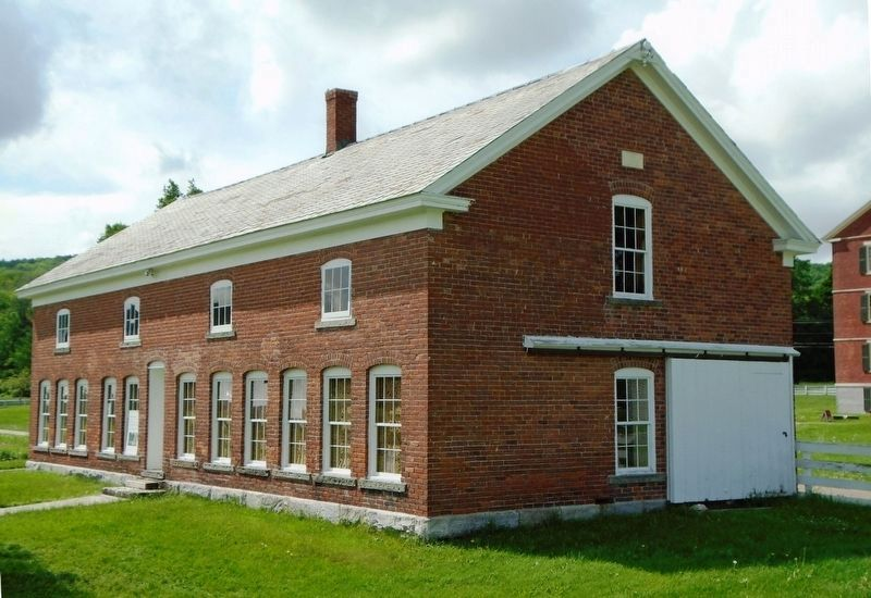 Hancock Shaker Village Poultry House image. Click for full size.