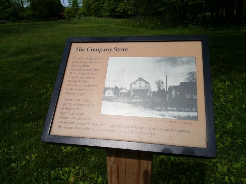The Company Store Marker image. Click for full size.