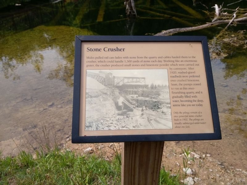 Stone Crusher Marker image. Click for full size.