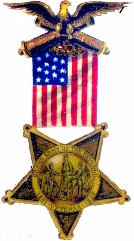 Grand Army of Republic Membership Medal image. Click for full size.