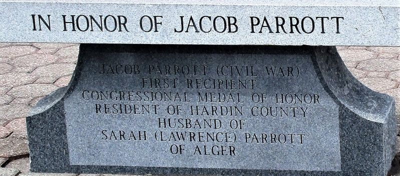 Jacob Parrott Marker image. Click for full size.