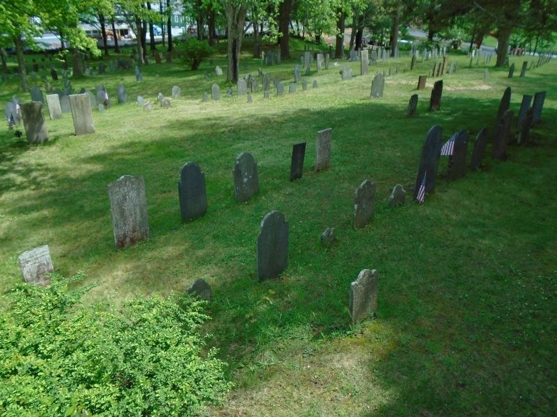 The Old Burial Ground image. Click for full size.