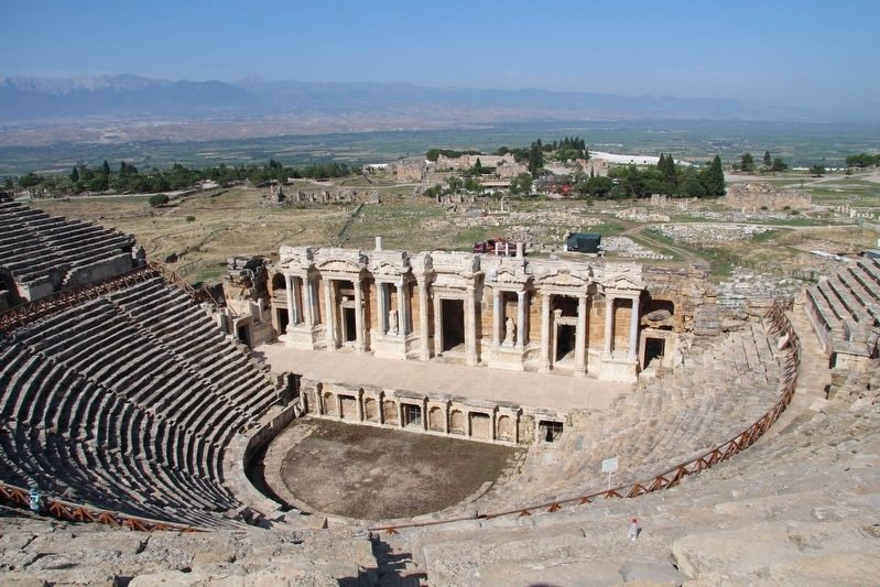 The Hierapolis Theatre image. Click for full size.