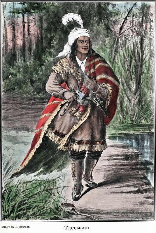 Chief Tecumseh image. Click for full size.
