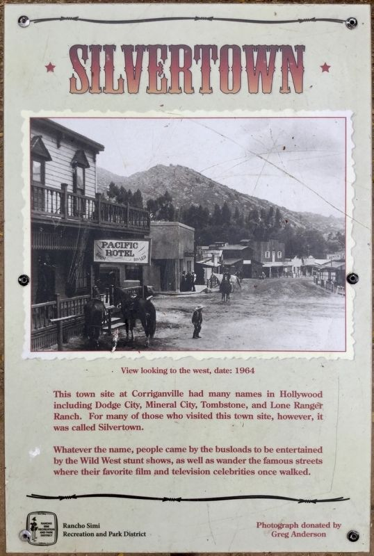 Corriganville Marker image. Click for full size.