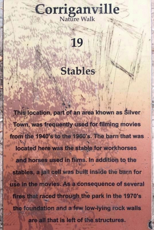 Stables Marker image. Click for full size.
