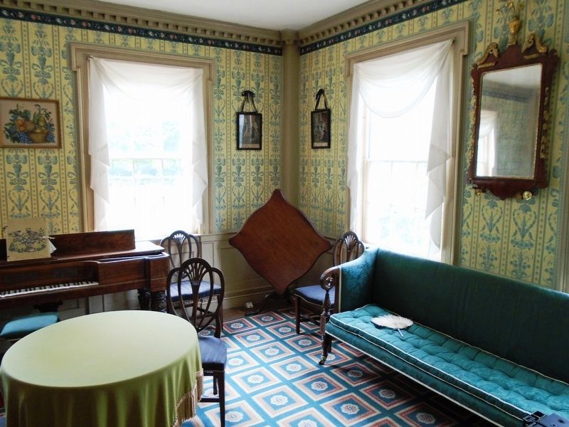 Salem Towne House Front Parlor image. Click for full size.