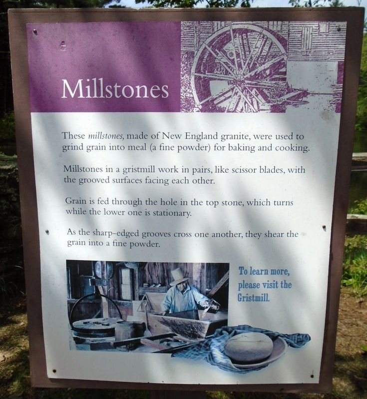 Millstones Marker image. Click for full size.