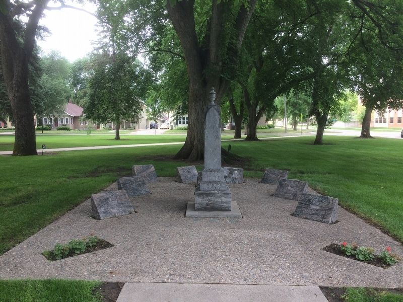 Brookings County South Dakota Veterans Memorial Marker image, Touch for more information