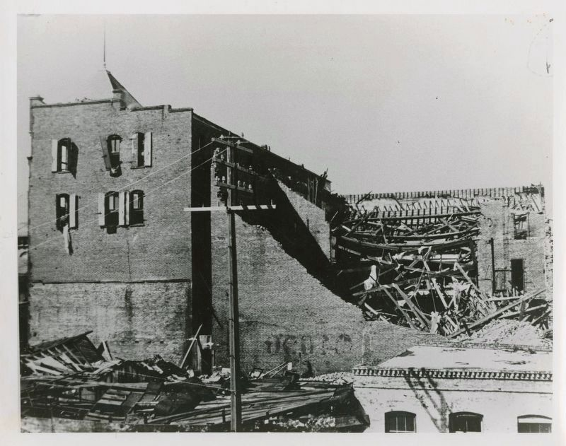 1894 Grand Opera House after the hurricane image. Click for full size.