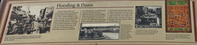 Flooding & Dams Marker image. Click for full size.