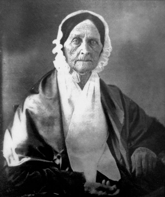 Barbara Fritchie<br>1766 - 1862 image. Click for full size.