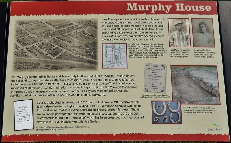 Murphy House Marker image. Click for full size.