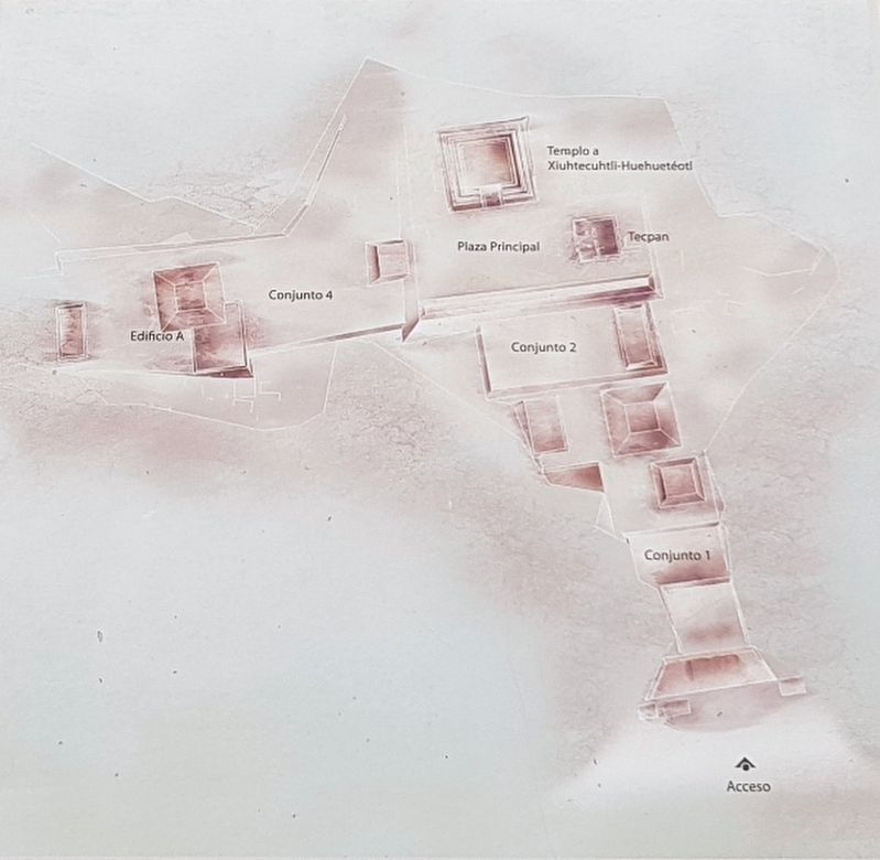 The site map from the Pahñu: The Luminous Path Marker image. Click for full size.