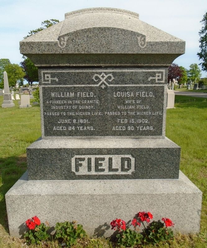 William Field Monument image. Click for full size.
