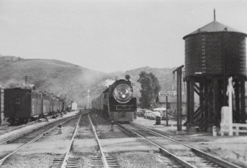 <i>Bealville, Santa Fe Railroad</i> image. Click for full size.