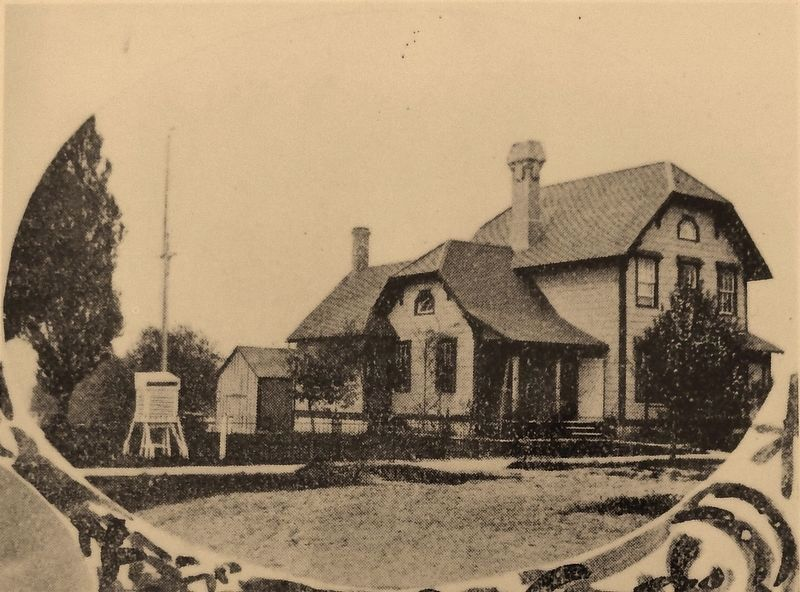 Marker detail: The Keeper's Home at the Turn of the Century image. Click for full size.