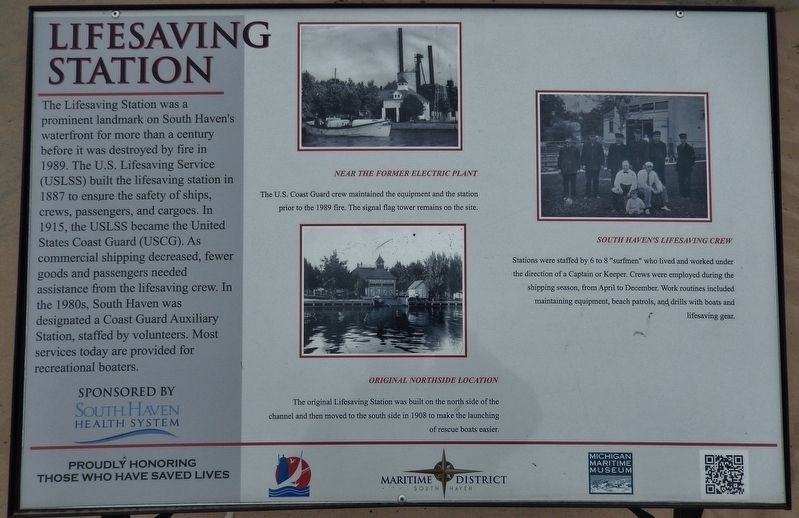 Lifesaving Station Marker image. Click for full size.