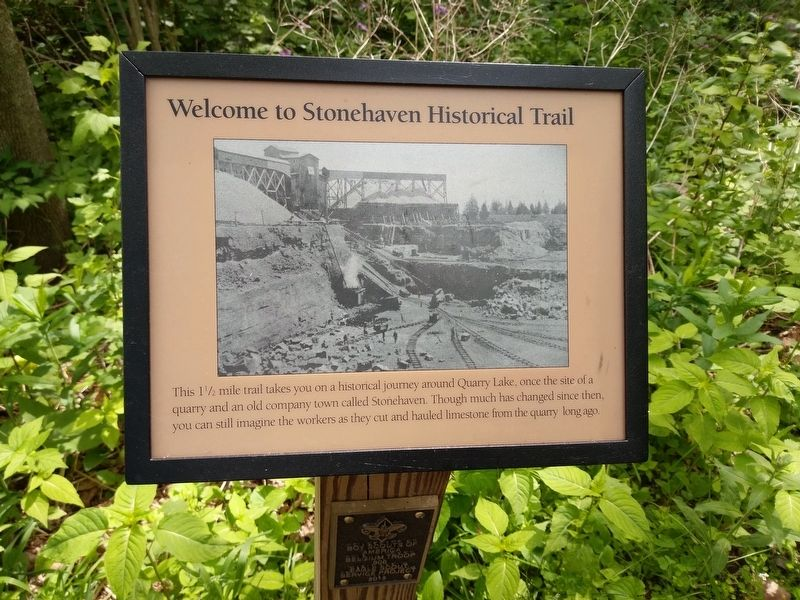 Stonehaven Historical Trail Marker image. Click for full size.