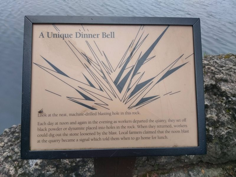 A Unique Dinner Bell Marker image. Click for full size.