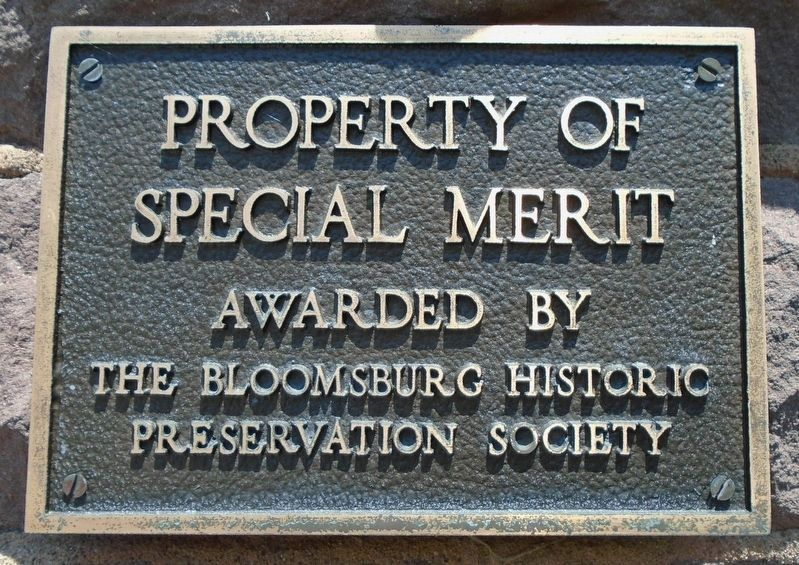 First Presbyterian Church Special Merit Marker image. Click for full size.