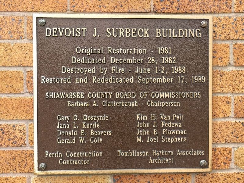 Devoist J. Surbeck Building image. Click for full size.