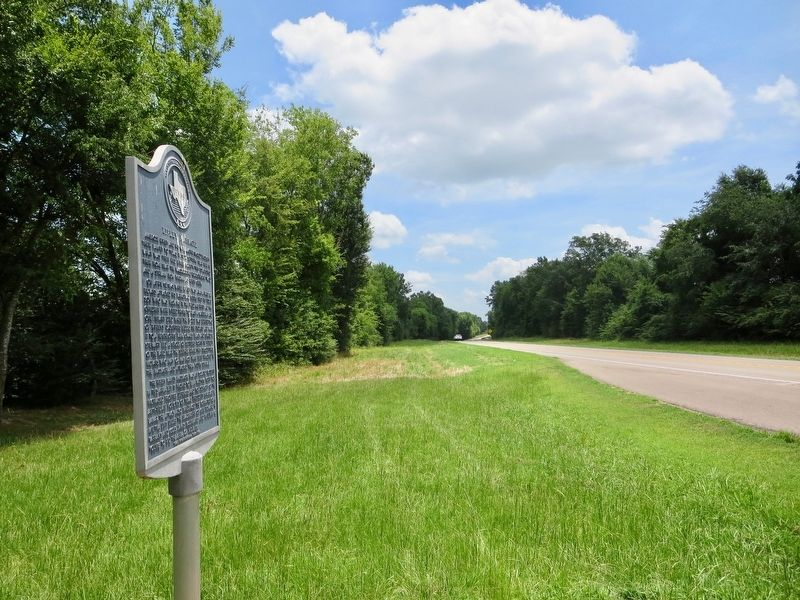 View from marker east towards the Ripley Creek crossing. image. Click for full size.