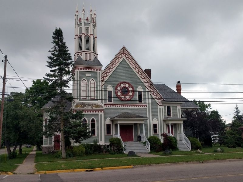 Former First Congregational Church of Ovid image. Click for full size.