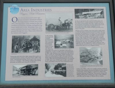 Area Industries Marker image. Click for full size.
