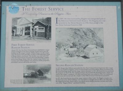 The Forest Service Marker image. Click for full size.