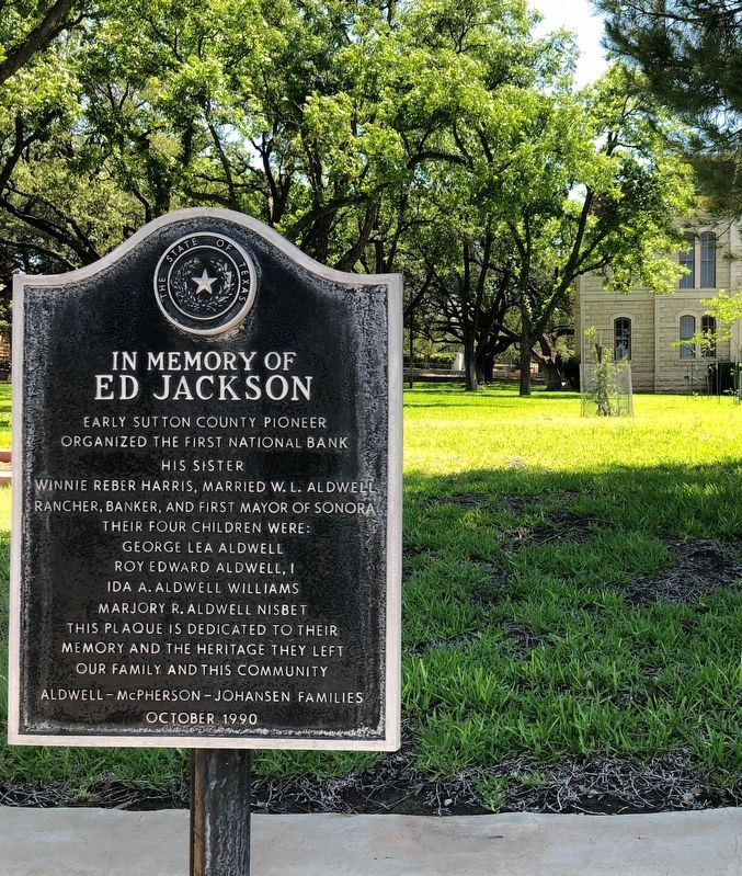 In Memory of Ed Jackson Marker image. Click for full size.