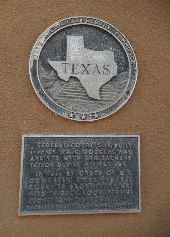 Federal Court Site Marker image. Click for full size.