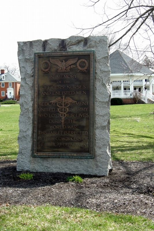 Army Medical Department Memorial Marker image. Click for full size.