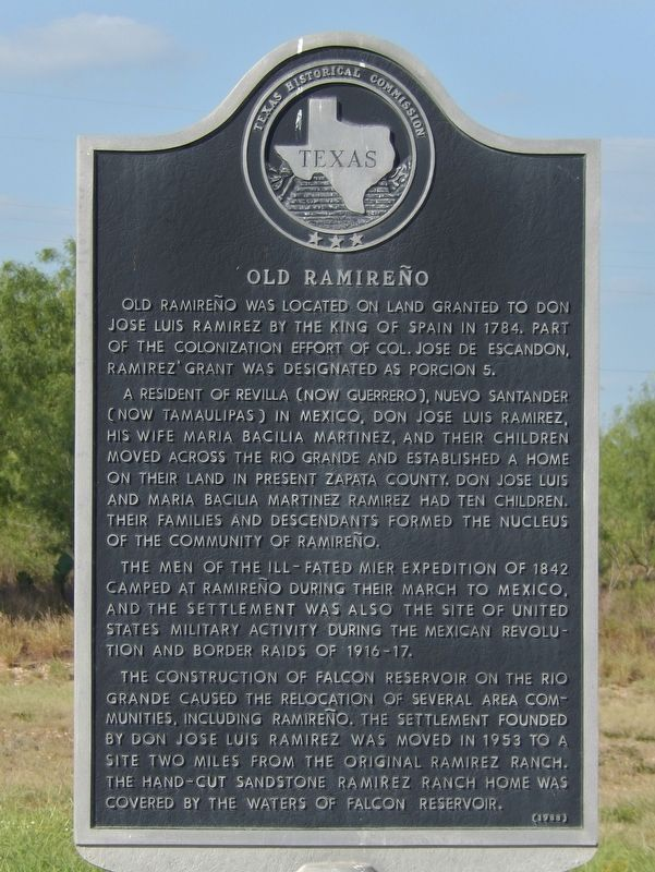 Old Ramireño Marker image. Click for full size.