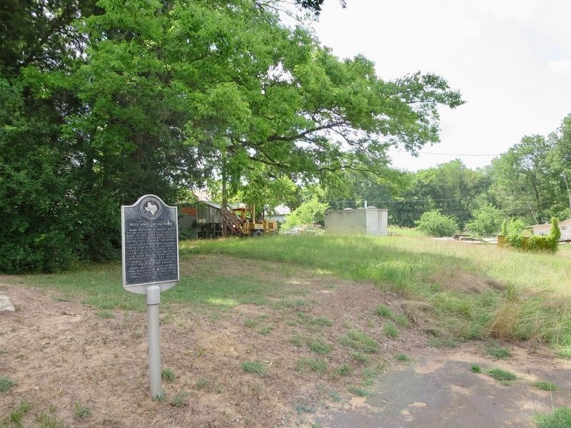 View easterly from marker at former site. image. Click for full size.