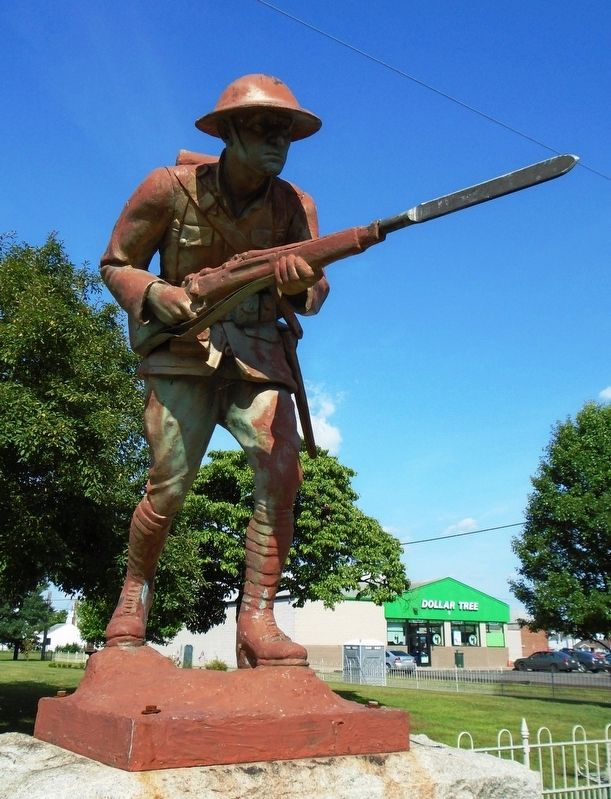 World War Memorial Doughboy Statue image. Click for full size.