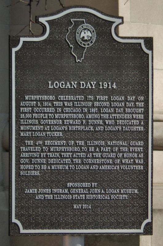 Logan Day 1914 Marker image. Click for full size.