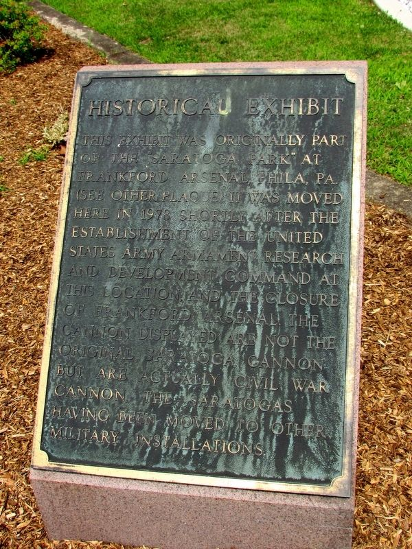 Historical Exhibit Marker image. Click for full size.