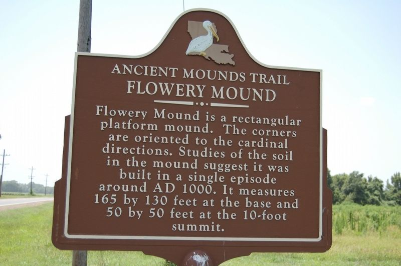 Flowery Mound Marker image. Click for full size.