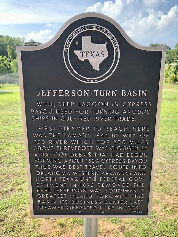 Jefferson Turn Basin Marker image. Click for full size.