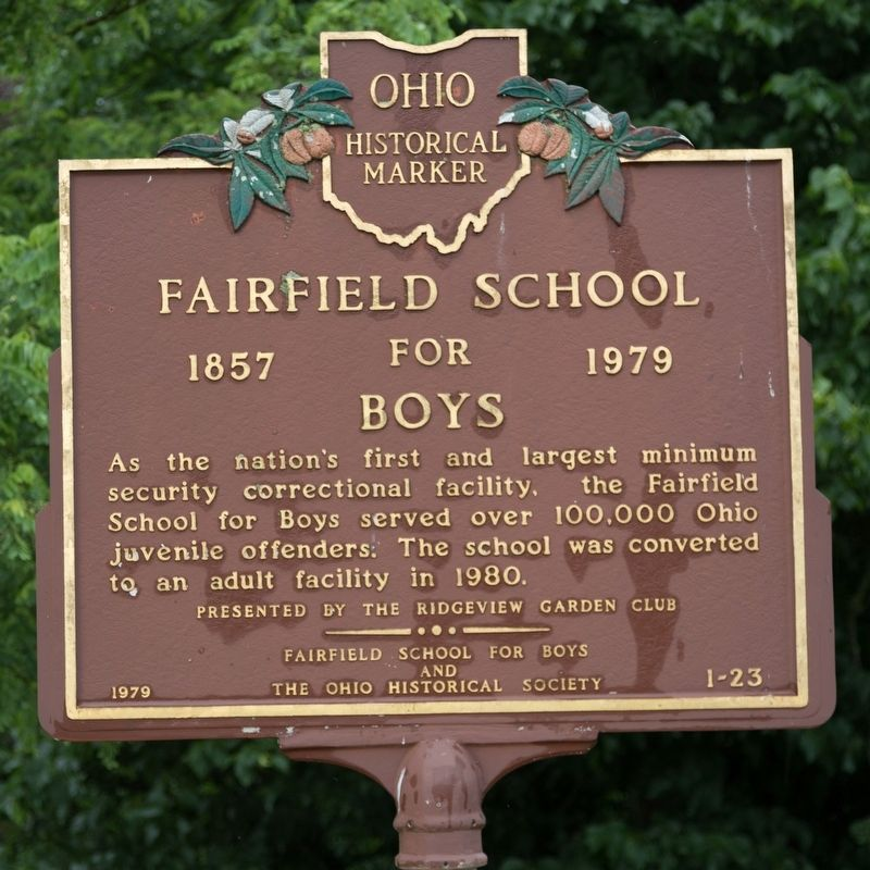 Fairfield School for Boys Marker image. Click for full size.