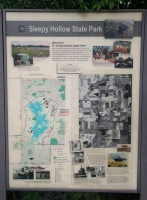 Sleepy Hollow State Park Marker image. Click for full size.