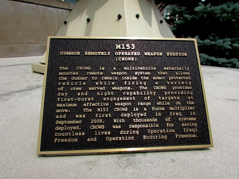 M153 - Common Remotely Operated Weapon Station Marker image. Click for full size.