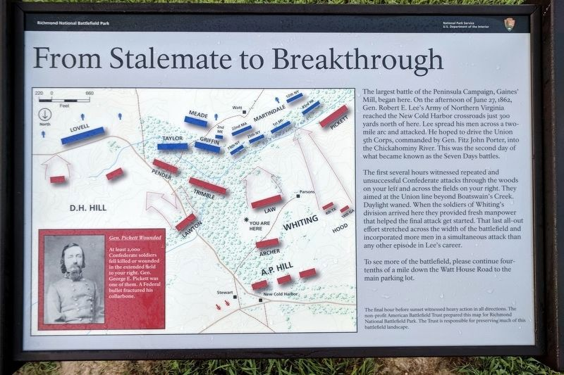 From Stalemate to Breakthrough Marker image. Click for full size.
