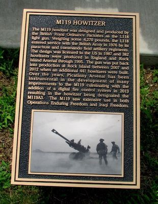 M119 Howitzer Marker image. Click for full size.