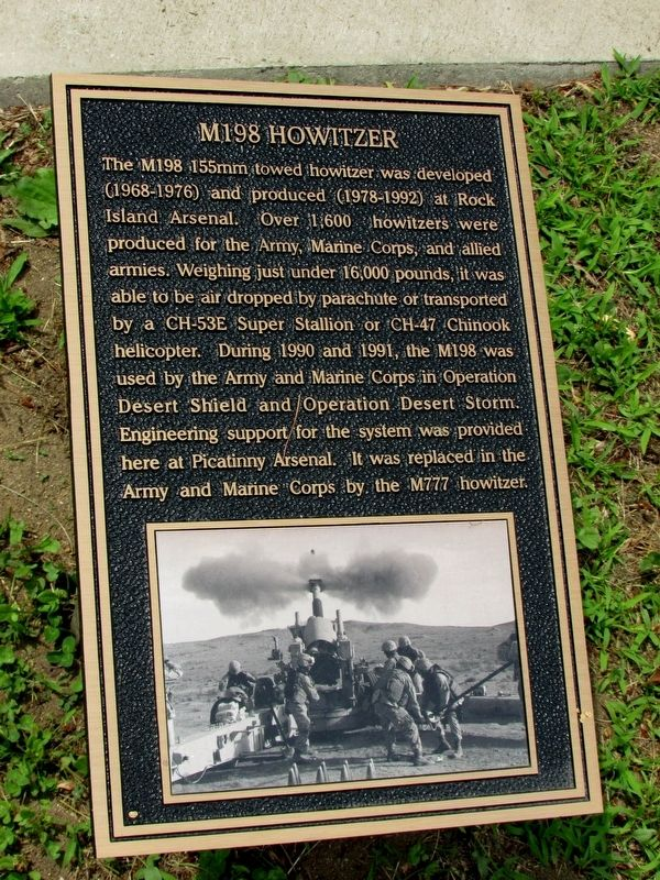 M198 Howitzer Marker image. Click for full size.