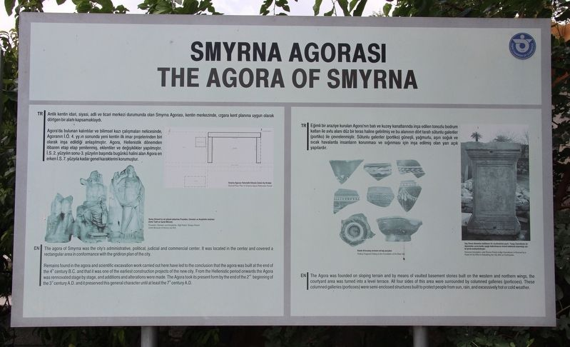 The Agora of Smyrna Marker image. Click for full size.